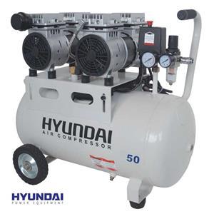 کمپرسور بیصدا 50 لیتری هیوندای مدل AC-1550